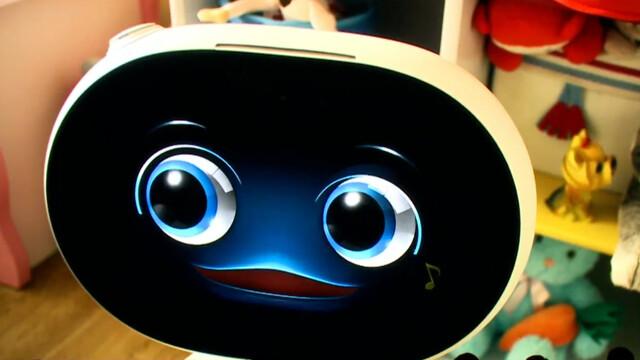 Asus Zenbo Roboter mit Touchscreen
