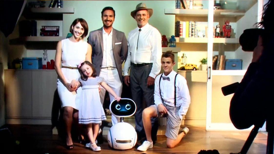 Ein Roboter als Teil der Familie