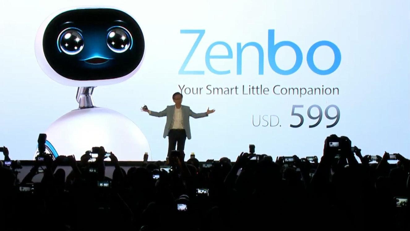 Zenbo Heim Roboter-Vorstellung von ASUS