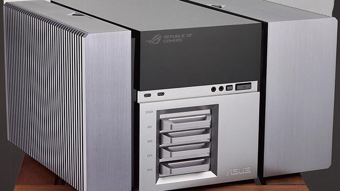 Asus ROG Avalon: PC-Studie macht Gehäuse und Hardware zur Einheit