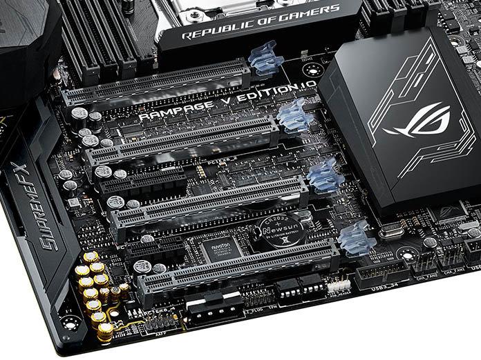 SupremeFX Audio und PCIe-Slots