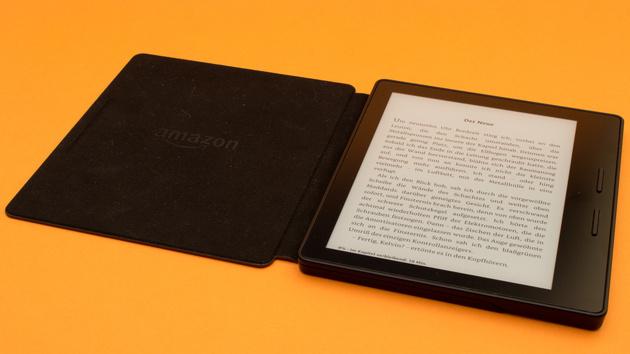 Kindle Oasis: Hülle lädt internen Akku nicht immer