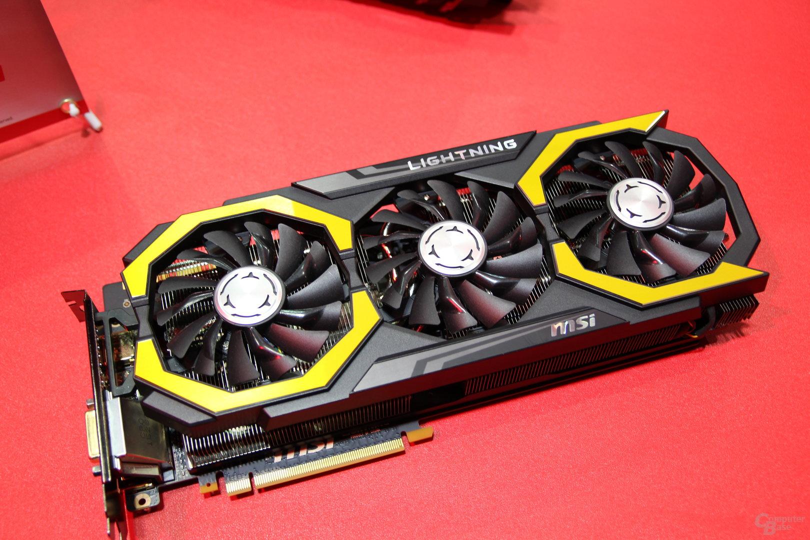 MSI GeForce GTX 1080 Lightning