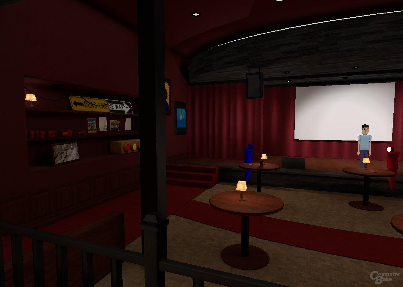 AltSpaceVR – Reggie Watts live in VR