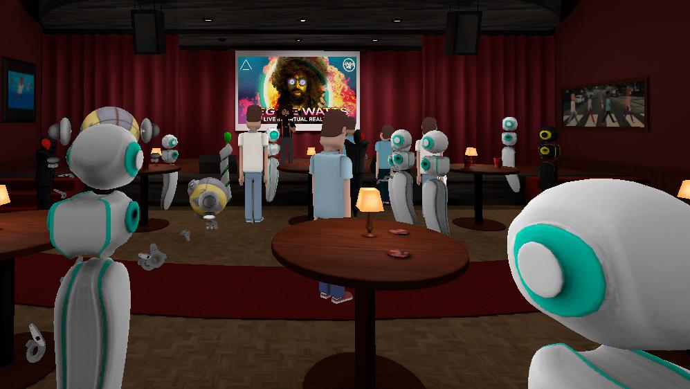 AltSpaceVR: Mit 1.199 anderen Personen beim VR-Comedy‑Abend