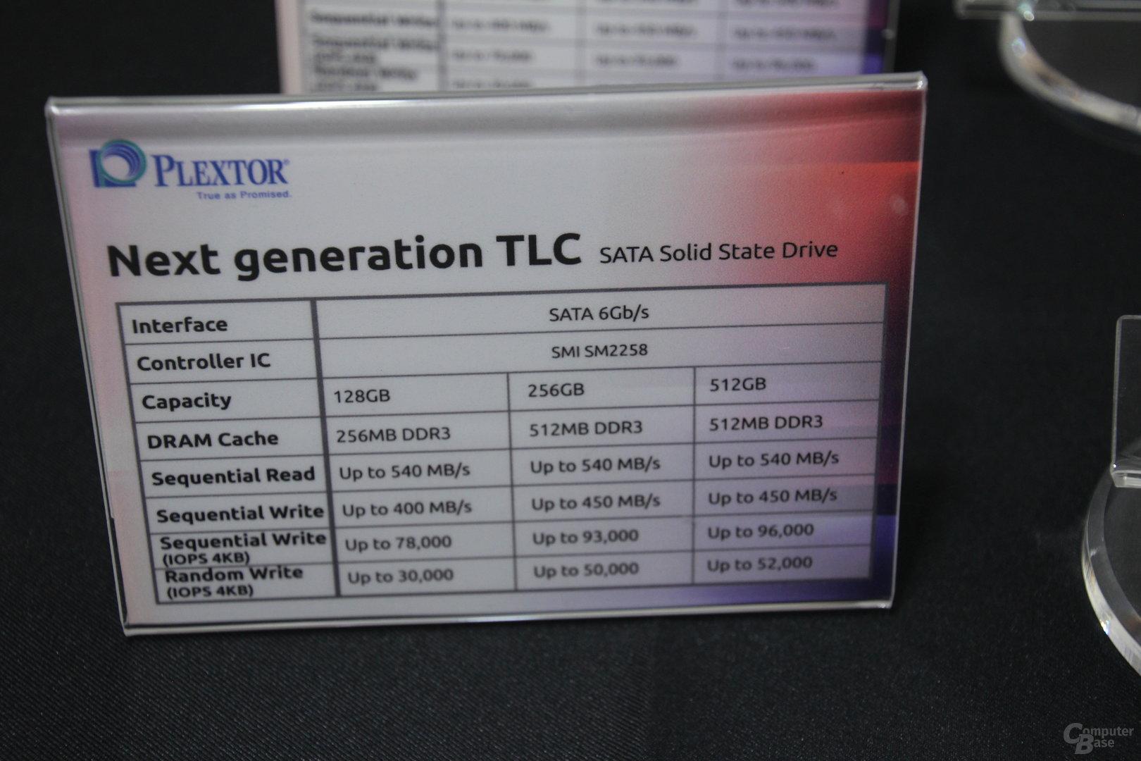 Plextor-SSDs zur Computex 2016