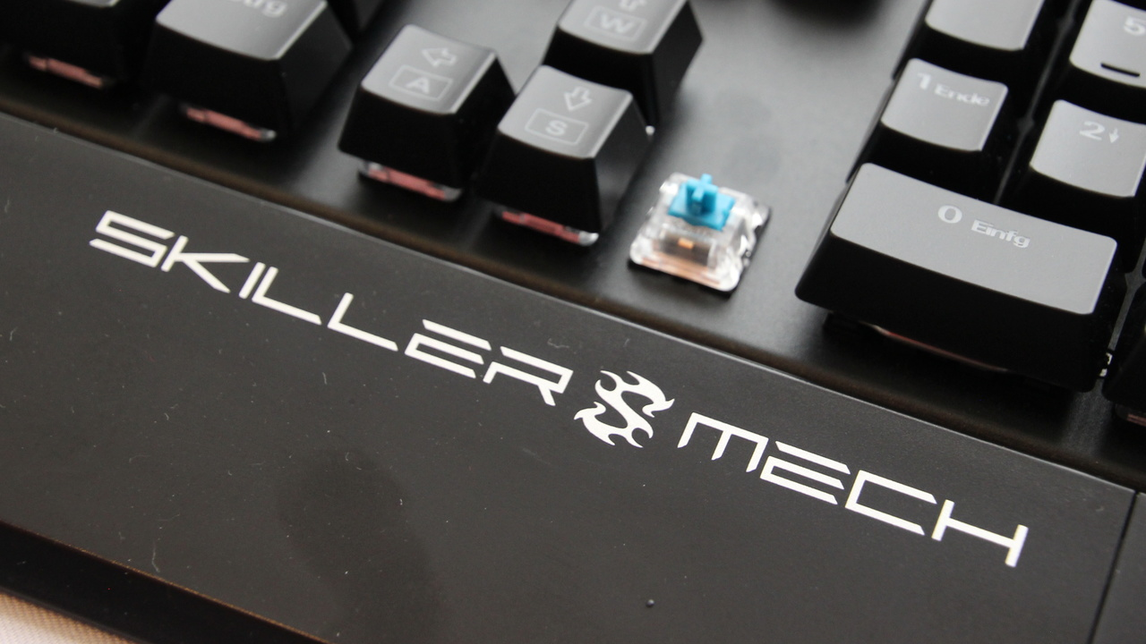 Sharkoon Skiller Mech: Mechanische Tastatur mit Kailh-Technik für 60 Euro
