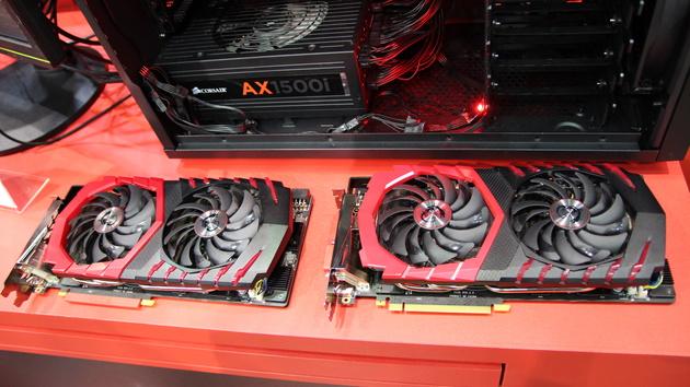 """GeForce GTX 1080: MSI erweitert Gaming-Grafikkarten mit einem """"Z"""""""