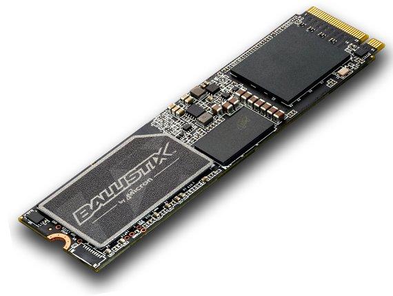 Ballistix TX3 SSD von Micron