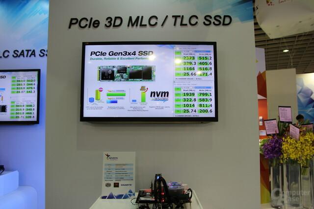 Adatas PCIe-SSDs mit 3D-NAND