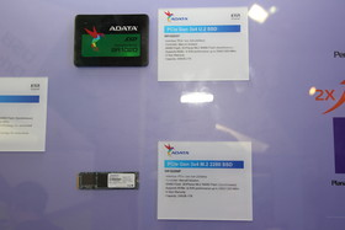Adata SR1020SP (U.2) und Adata SR1020NP (M.2)