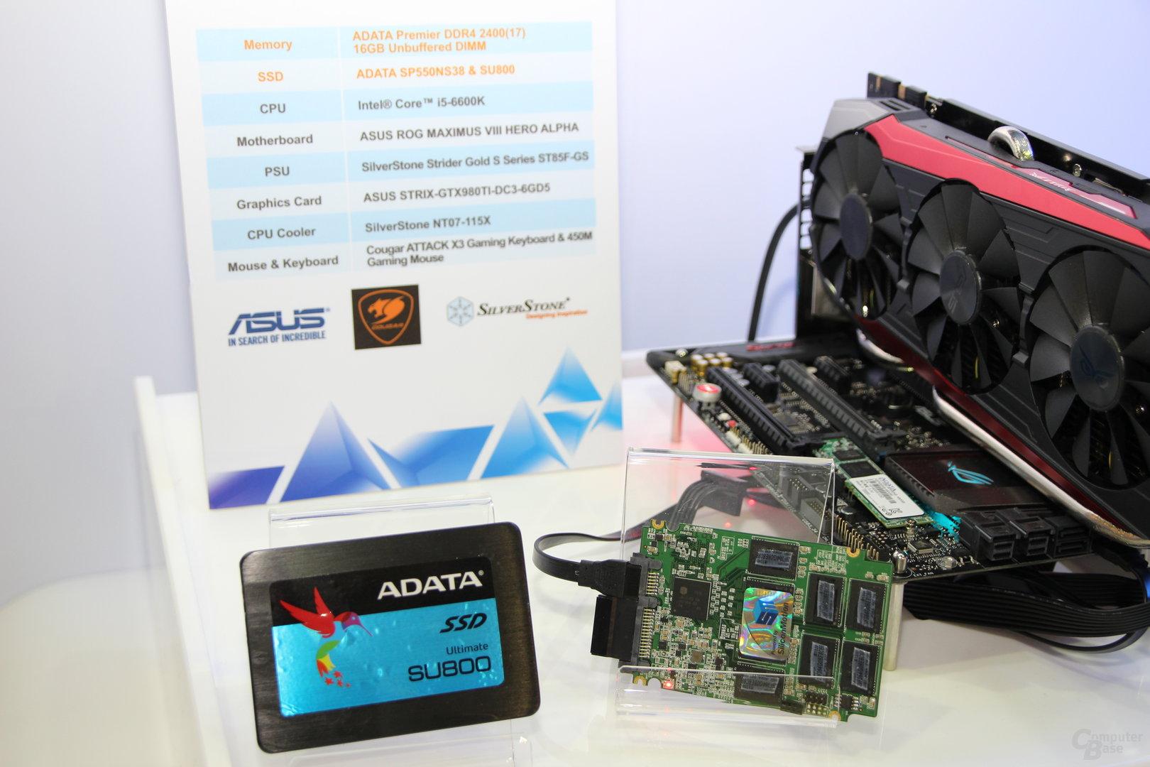 Adata SU800 mit 3D-TLC-NAND