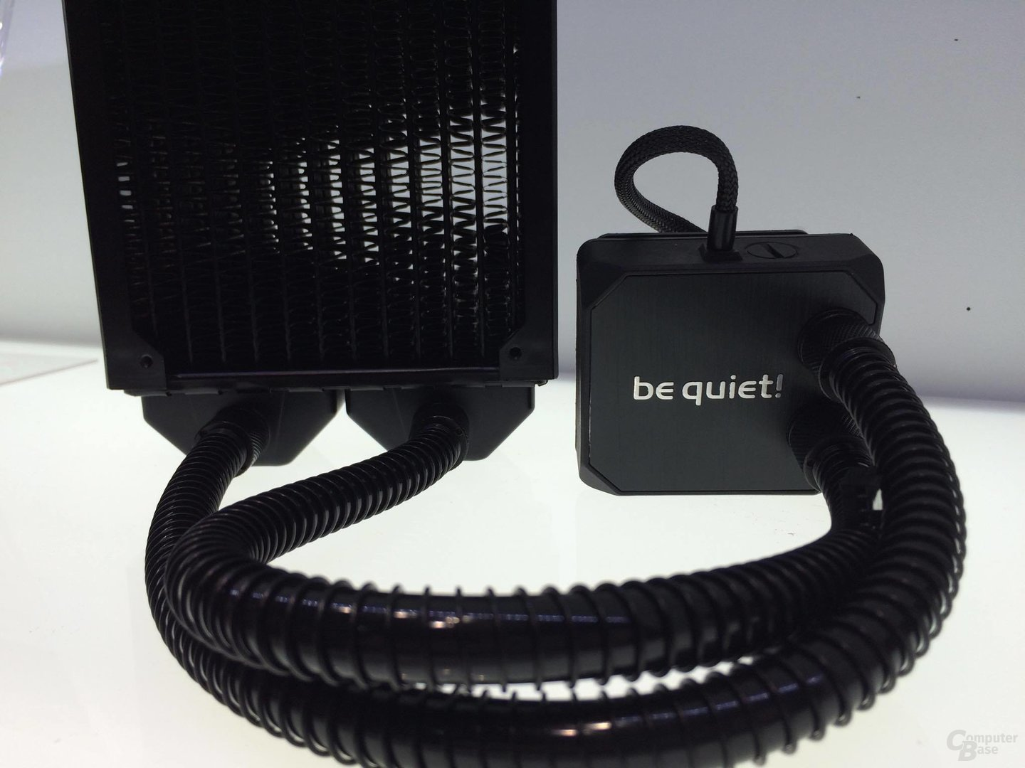 be quiet! Silent Loop: Pumpe und Radiator