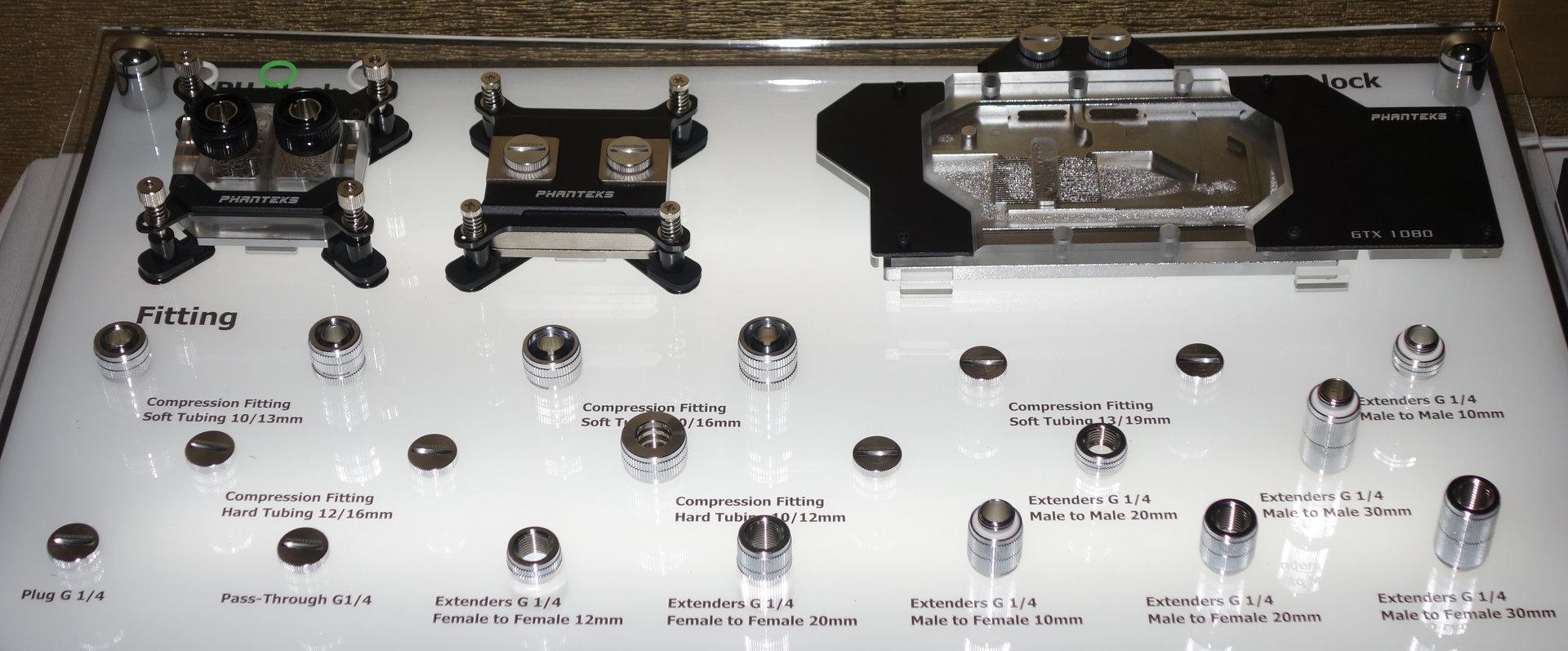 Neue Produkte von Phanteks für Wasserkühlungen