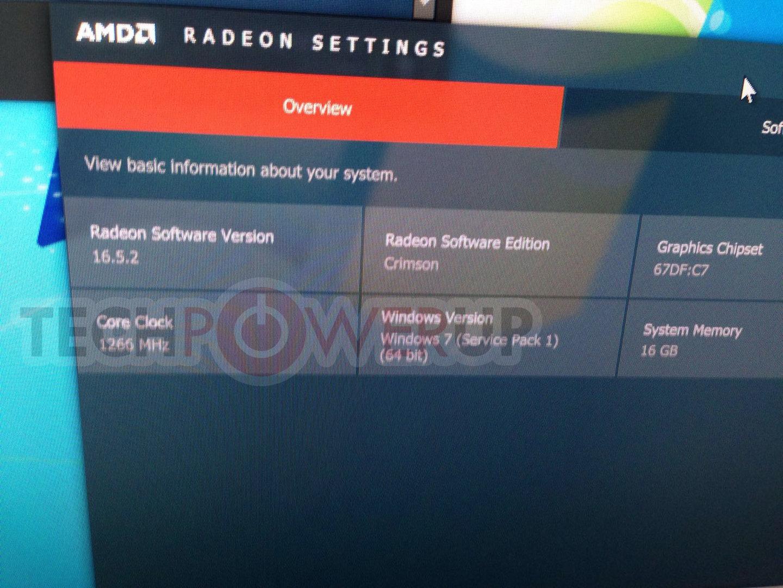 Die Taktraten der Radeon RX 480 zur Computex