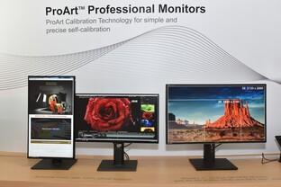 ProArt PA27AQ (links), ProArt 5K UHD (rechts)