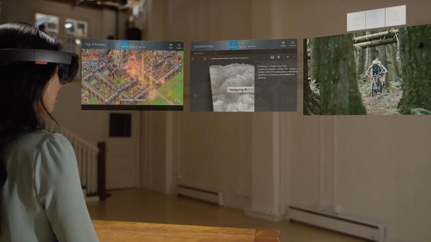Microsoft HoloLens: Erstes großes Software-Update für das AR-Headset