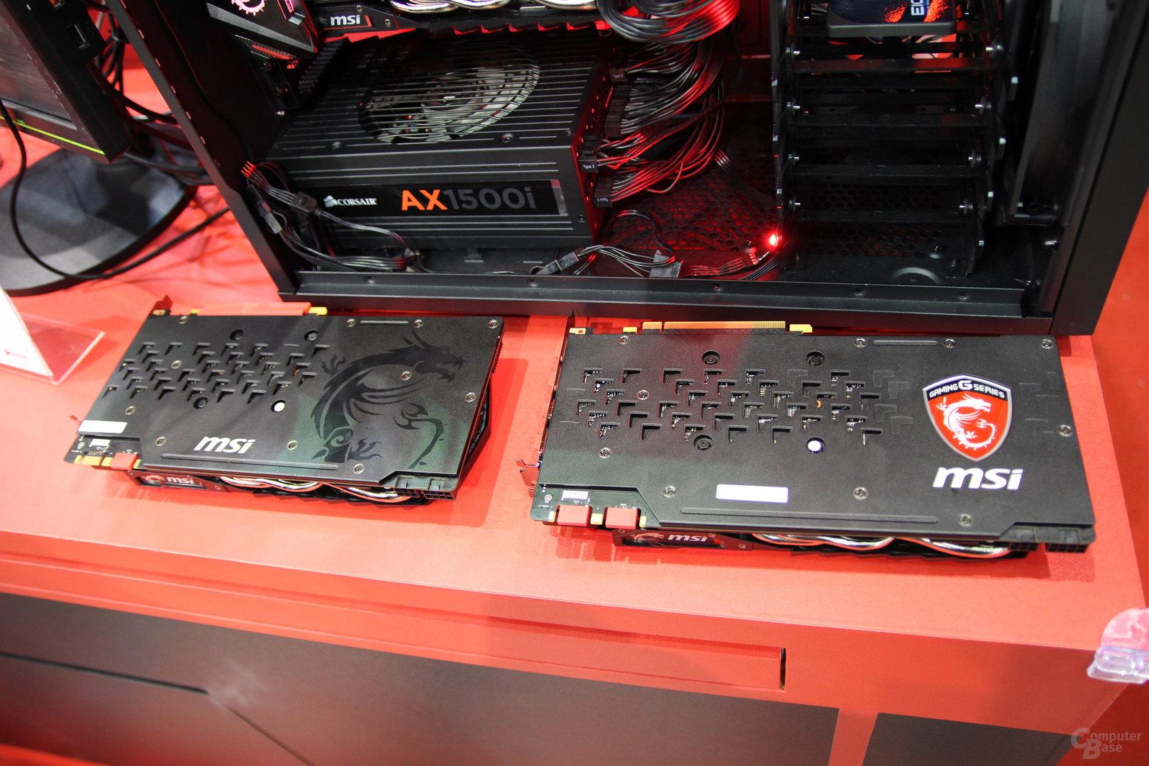 MSI GeForce GTX 1080 Gaming Z 8G