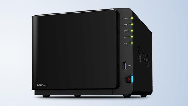 Synology DS416play: Celeron N3060 für 4K-Echtzeit-Transkodierung ohne HDMI