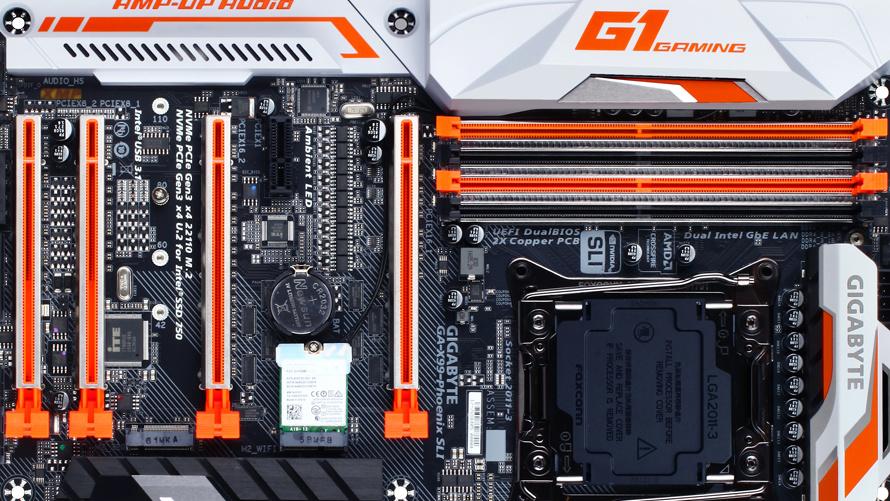 Gigabyte-Mainboards: Neue Designs und neue Ports für Broadwell-E und Co.