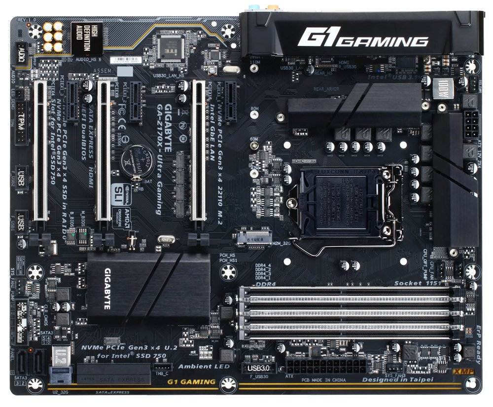 Gigabyte GA-Z170X-Ultra Gaming