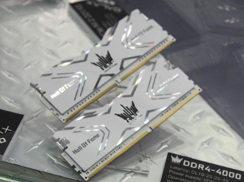 Galax zeigt DDR4-4.000-RAM unter der HOF-Flagge