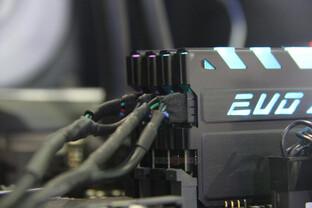GeIL EVO X mit Spannungsversorgung über USB-Header