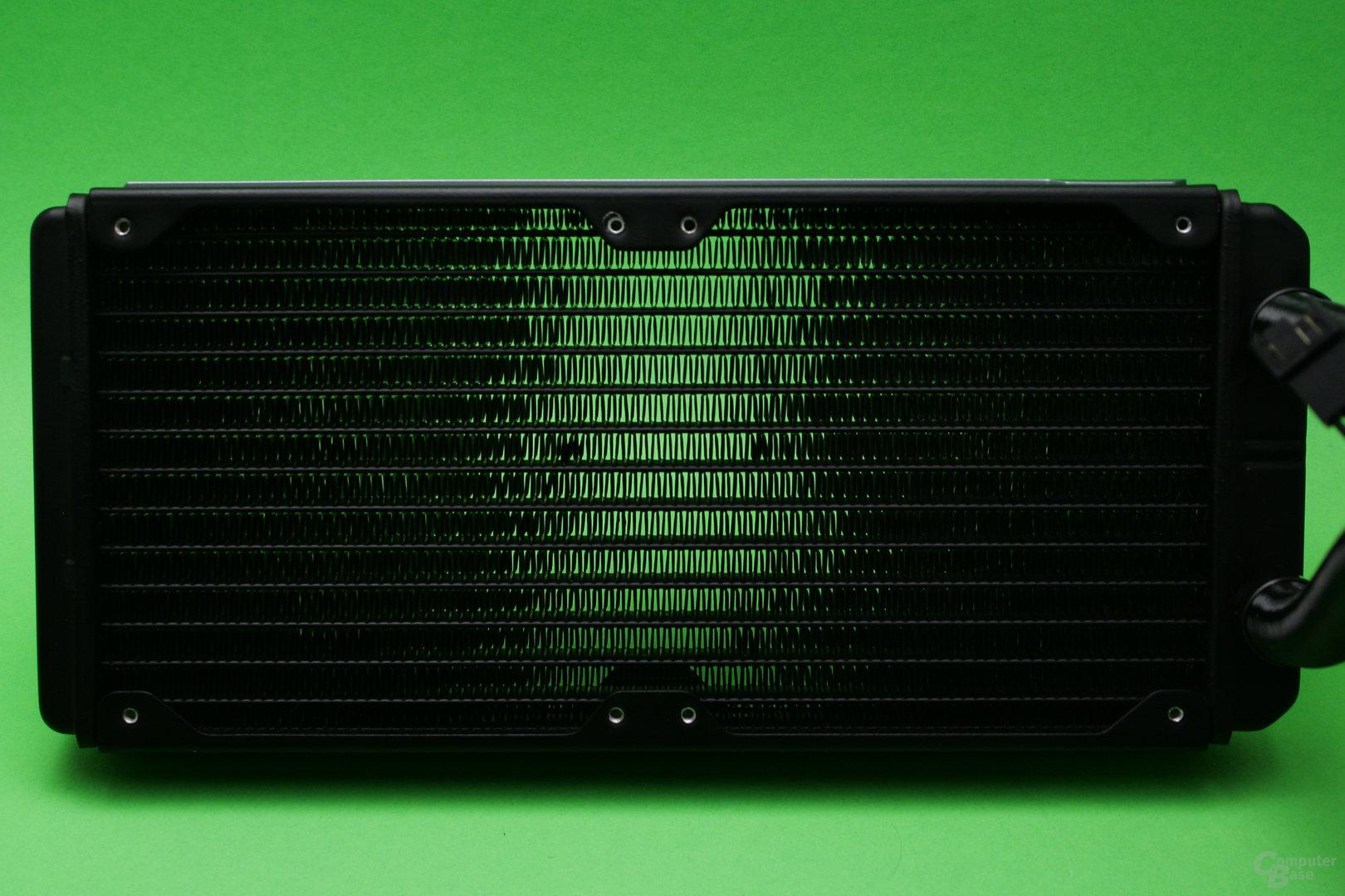 Corsair H100i v2: Radiator