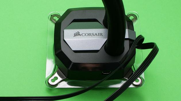 Corsair H100i v2 im Test: Eine Pumpe mit USB für eine leise AiO-Kühlung