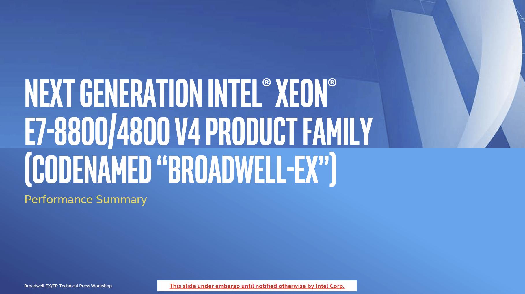 Broadwell-EX-Ergebnisse