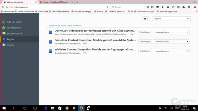 Widevine gesellt sich zum Adobe CDM