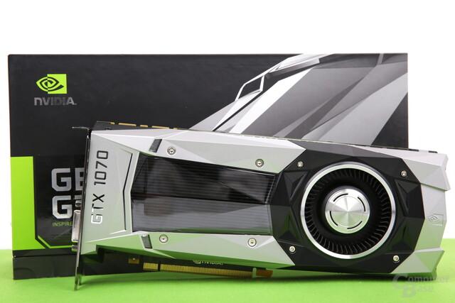 Die Nvidia GeForce GTX 1070 Founders Edition