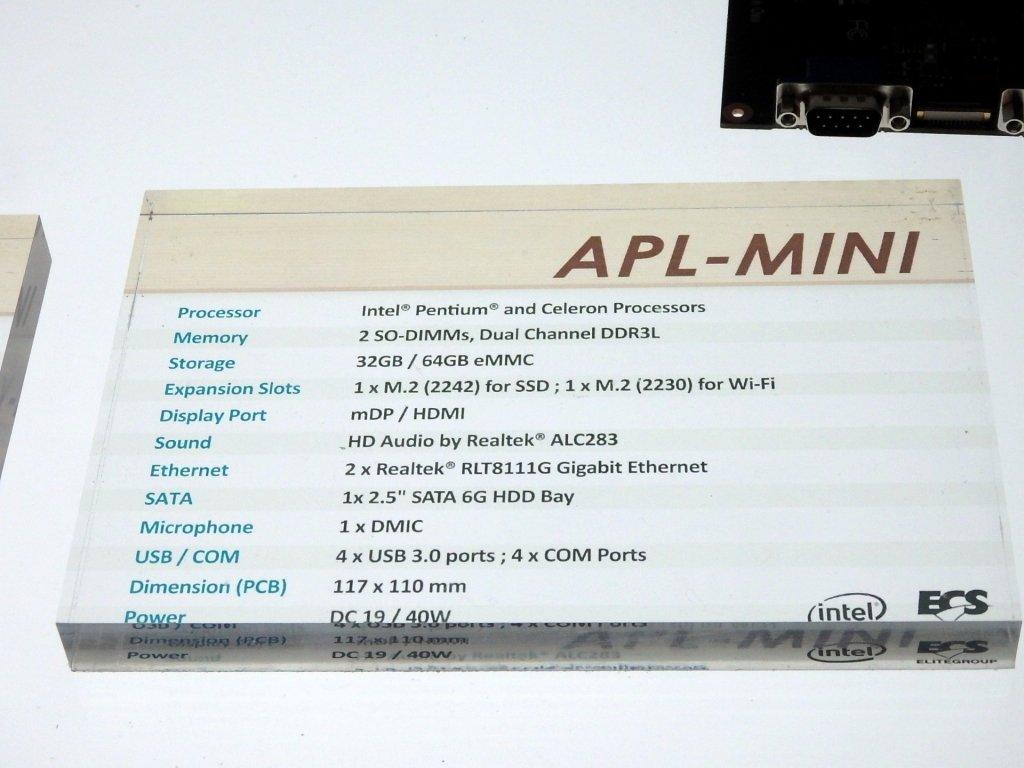 ECS APL-Mini