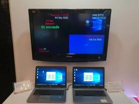 SanDisks NVMe-Demo auf der Computex 2016