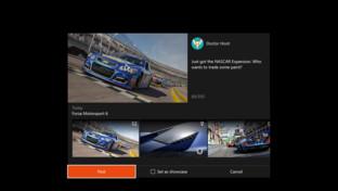 Einfacheres Teilen von Screenshots, Videos und Errungenschaften