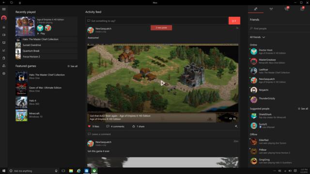 PC-Spiele auf Xbox Live
