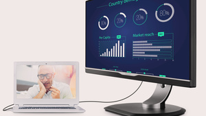 Philips 258B6QUEB: Monitor mit USB C, USB Power Delivery & Dockingstation