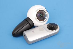 Samsung Gear 360 und LG 360 Cam