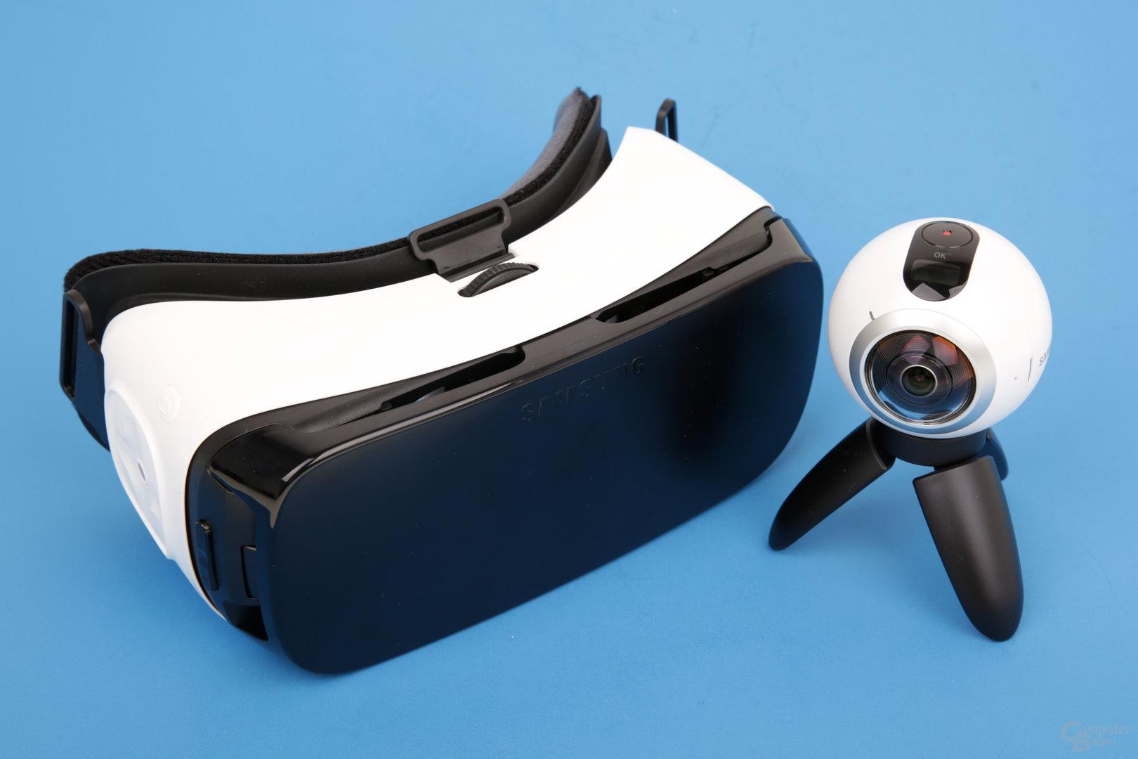 Samsung Gear VR und Gear 360