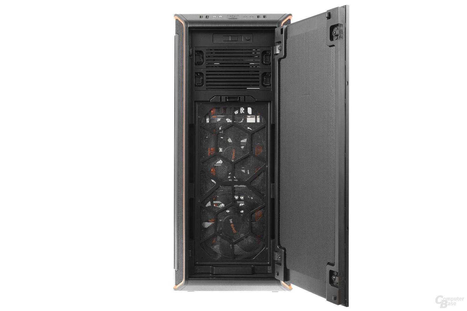 be quiet! Dark Base Pro 900 – Fronttür geöffnet