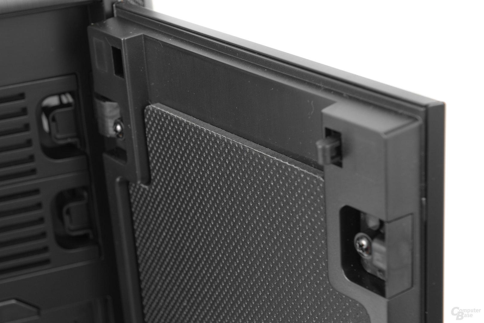 be quiet! Dark Base Pro 900 – Dicke der Schalldämmung