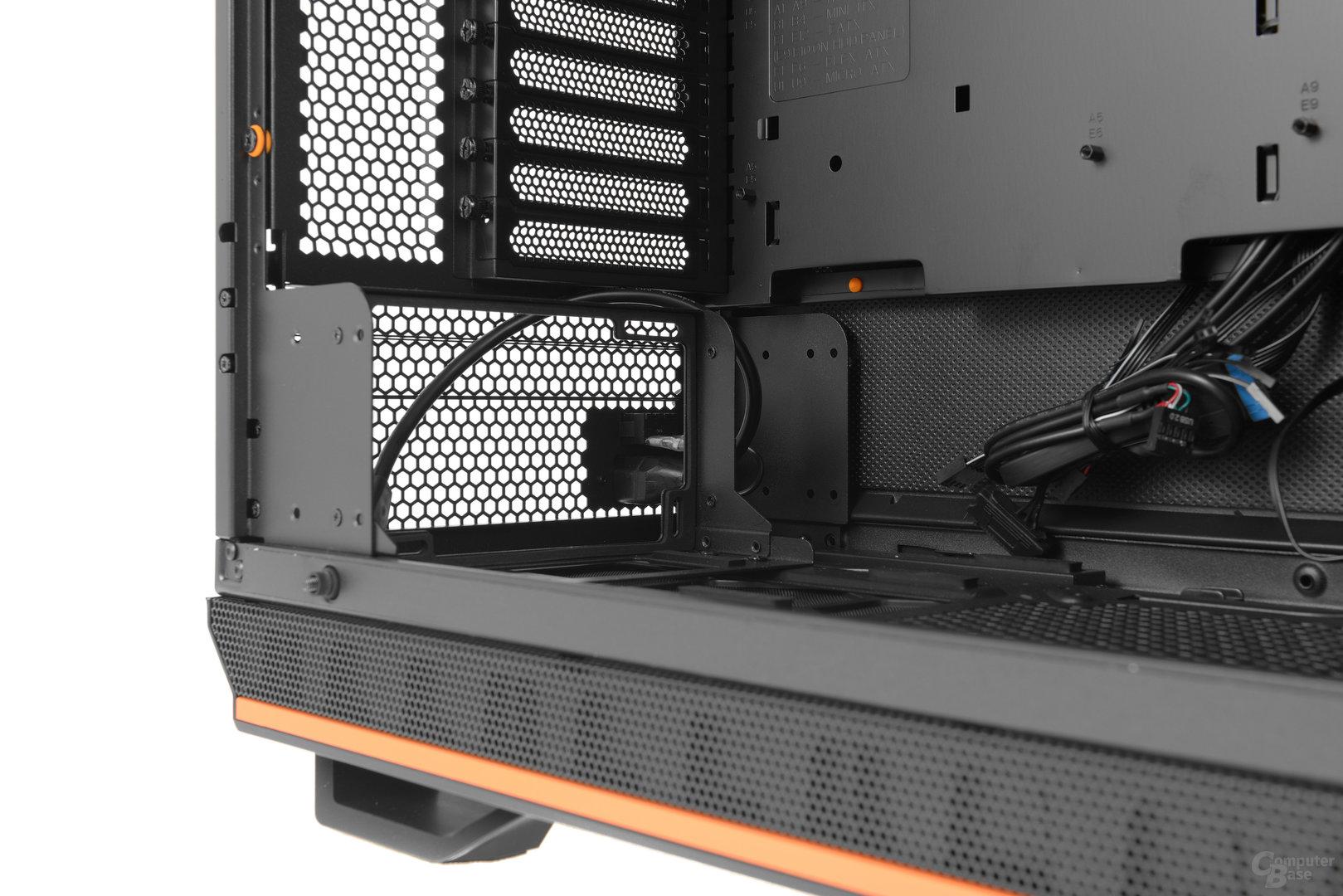 be quiet! Dark Base Pro 900 – Das modulare Netzteilbracket
