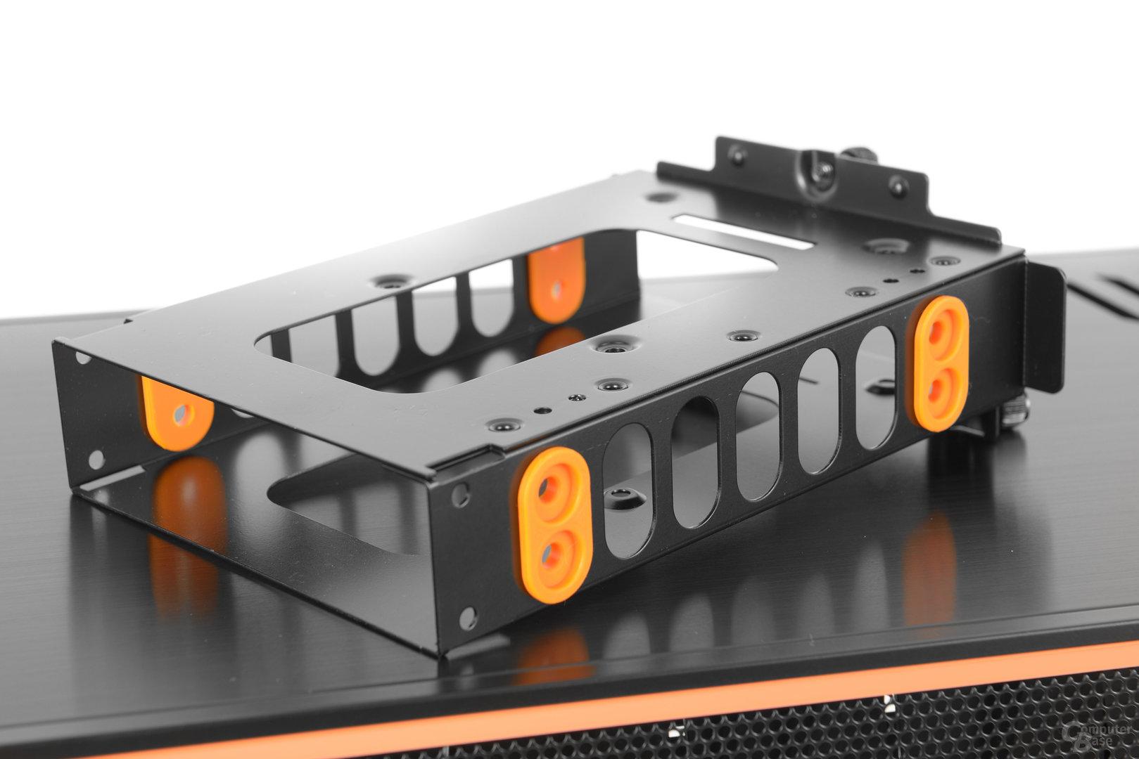 be quiet! Dark Base Pro 900 – Festplattenbracket im Detail