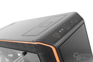 be quiet! Dark Base Pro 900 – Frontpanel und Qi-Ladegerät