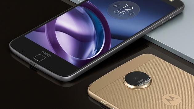 Lenovo Moto Z: High-End-Smartphone mit Snapdragon 820 und Modulen