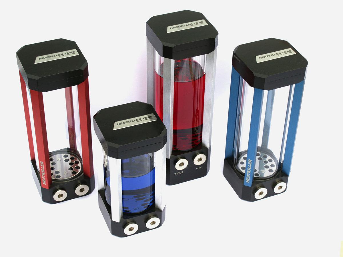 Watercool Heatkiller Tube: Reservoir aus Borosilikatglas