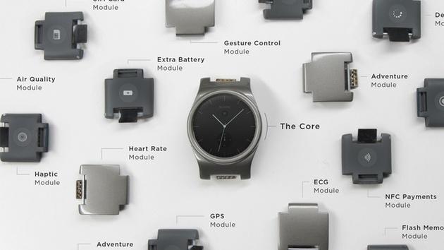 Blocks: Modulare Smartwatch kann vorbestellt werden