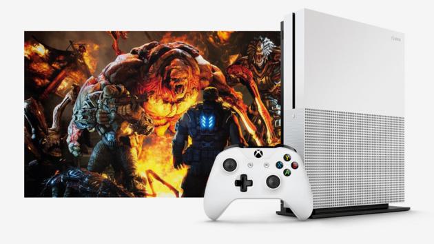 Xbox One S: 40 Prozent kleiner mit Ultra-HD-Video, HDR und 2 TByte