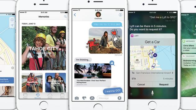 Apple: iOS 10 kommt mit vielen neuen Apps für weniger Geräte