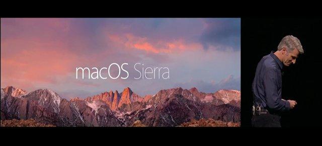 Apple macOS Sierra